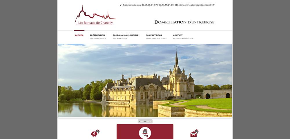 site Bureaux de Chantilly