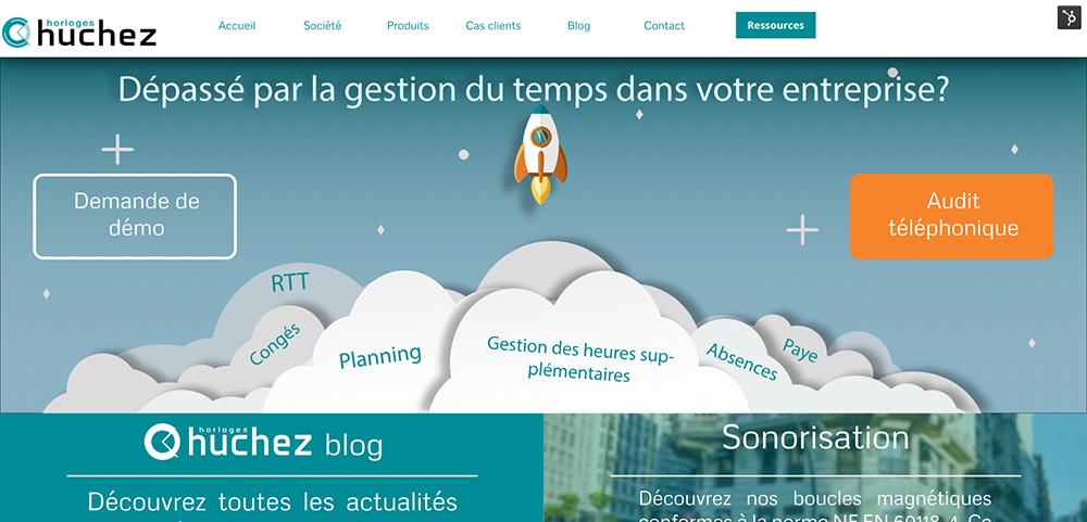 site Horloges Huchez