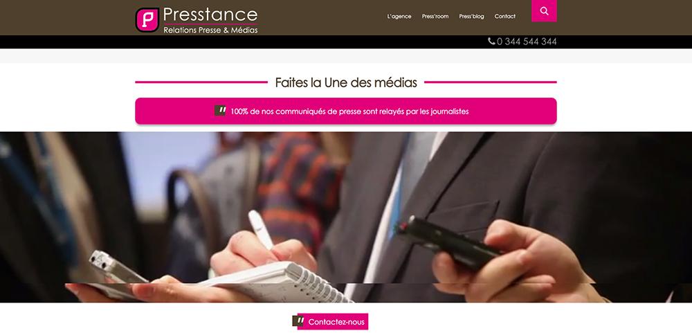 site Presstance